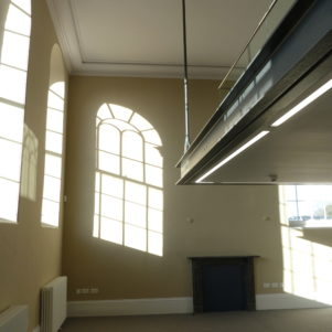 First Floor Office and New Mezzanine