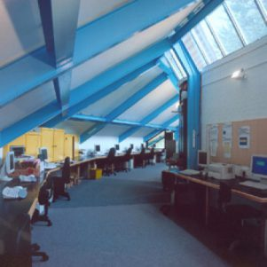 Daylit IT classroom