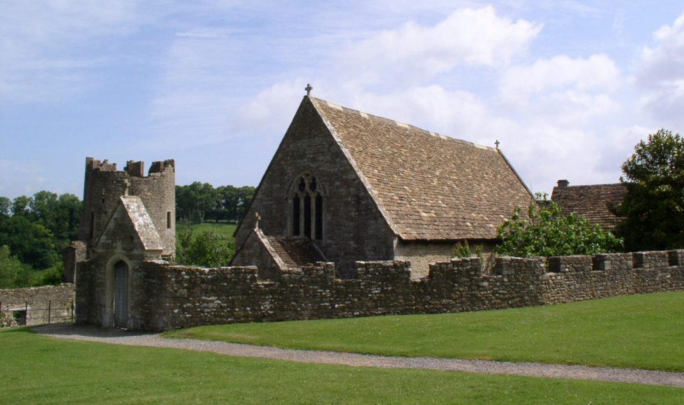 Chapel within the castle walls