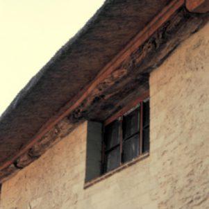 Window under eaves