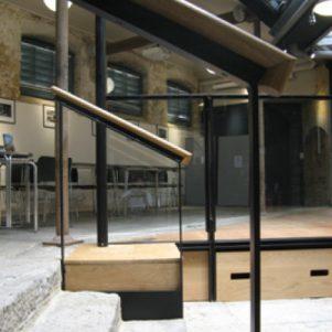 New steps & balustrades