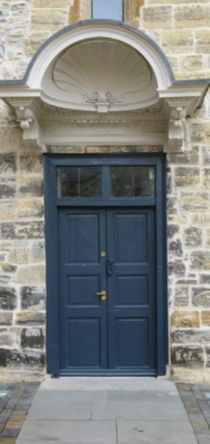 Late 17c doorway
