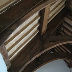 Early 16c roof structure