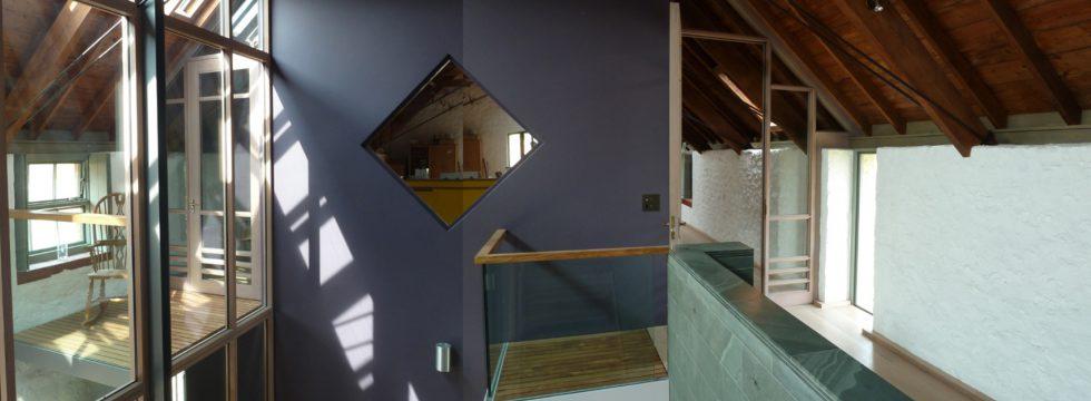 Stair & inner court