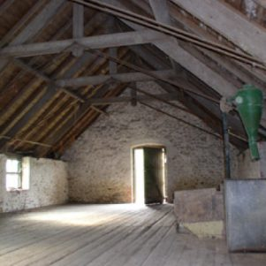 Original barn interior