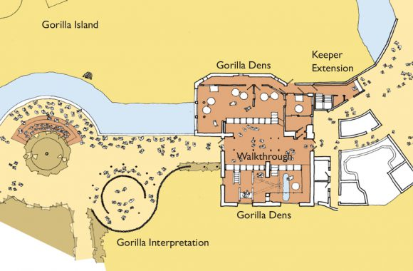 Gorilla House plan