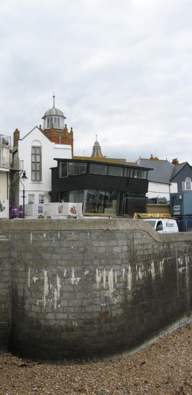 Mary Anning Wing with the Museum Behind