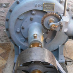 Repaired turbine
