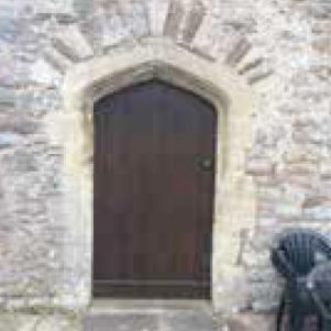 Doorway with Four Centred Arched Head