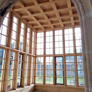 New Oriel interior