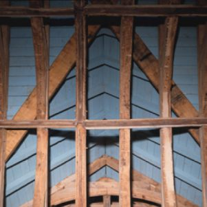 West Ogwell church roof