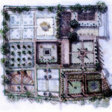 Godolphin House gardens