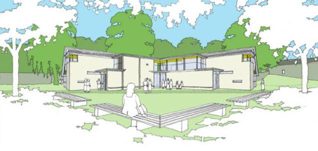 School science building
