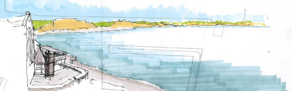 Lyme Bay & the Lyme Regis Museum wing concept drawing
