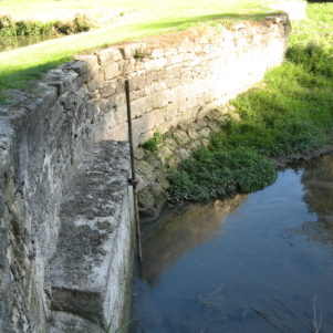 1760 Middle Dam wall